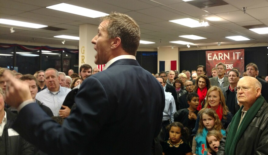 Eric Greitens, who is seeking the GOP nomination for governor, opened a campaign office in Crestwood earlier this week. Feb. 8 2016