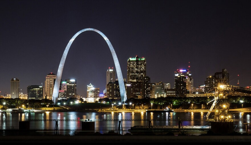 The Arch lights will be turned off from Sept. 17 to Sept. 30, 2018.