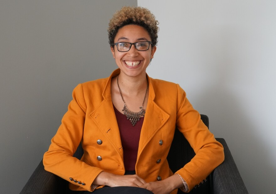 "(May 27, 2019) Alyson Thompson is founder and organizer on Mixed Feelings, a meeting group dedicated to building community among multiracial and multiethnic identities. She talked about it on Tuesday's ""St. Louis on the Air."""