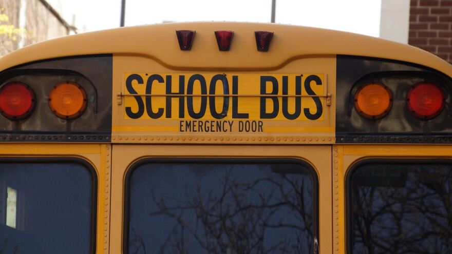 a photo of a school bus