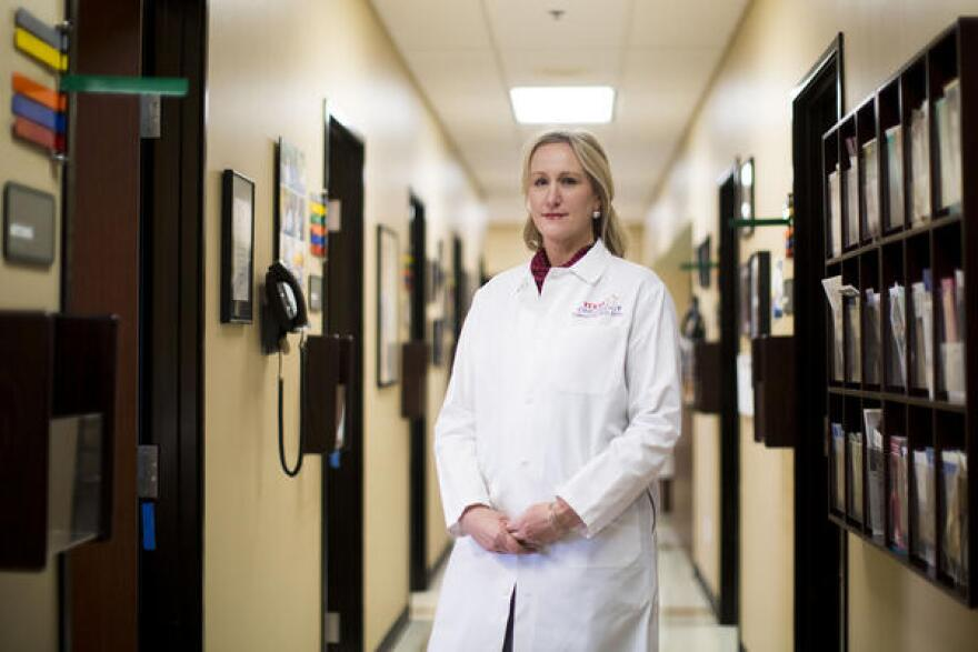 Dr. Debra Patt, executive vice president of Texas Oncology, says doctors support the prescription-monitoring program, but the technology isn't available right now to make it easy to implement.