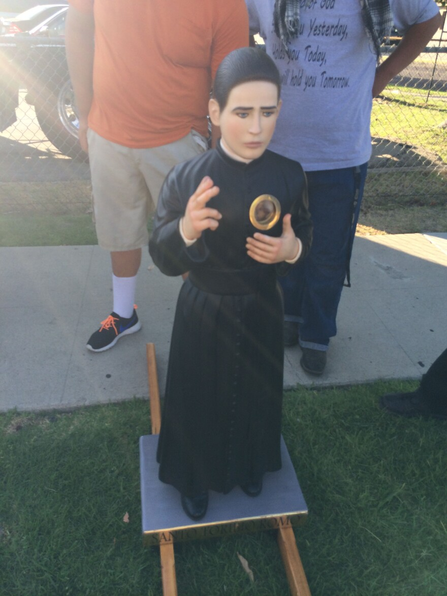 This month, relics of St. Toribio Romo will be on display at several Catholic churches in Southern California.