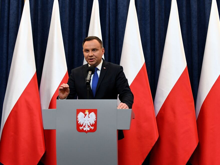 Poland's President Andrzej Duda announced Tuesday that he would sign a controversial Holocaust bill which has sparked tensions with Israel, the U.S. and Ukraine.
