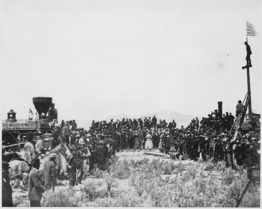 Joining_the_tracks_for_the_first_transcontinental_railroad_Promontory_Utah_1869.jpg