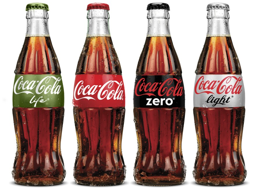 "The new Coca-Cola Life that is popular in Argentina is being marketed as a ""natural"" and therefore ""green"" lower-calorie cola."