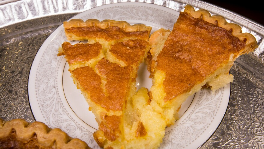 Though the filling is not actually totally transparent, the name of the pie has stuck around since it first appeared in Kentucky newspapers in the 1890s.