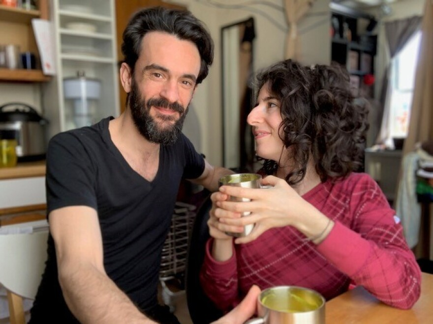 Joshua Boliver and Gali Beeri decided to quarantine together in New York City — after one date.