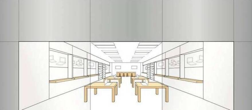Apple has trademarked its minimalist store design.