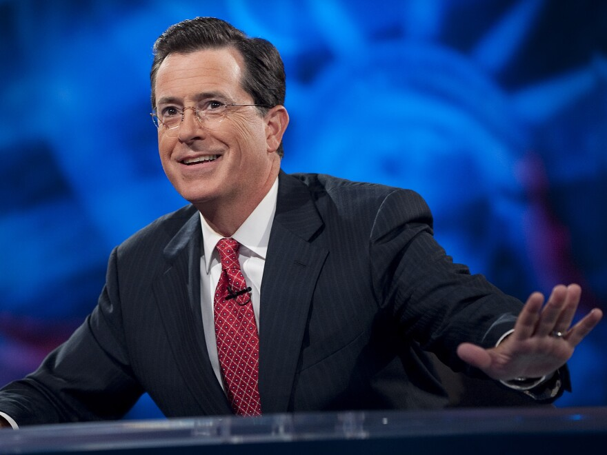 Stephen Colbert has made a name for himself, literally, as the host of his own show. Now, he will succeed David Letterman as the host of <em>The Late Show</em>.