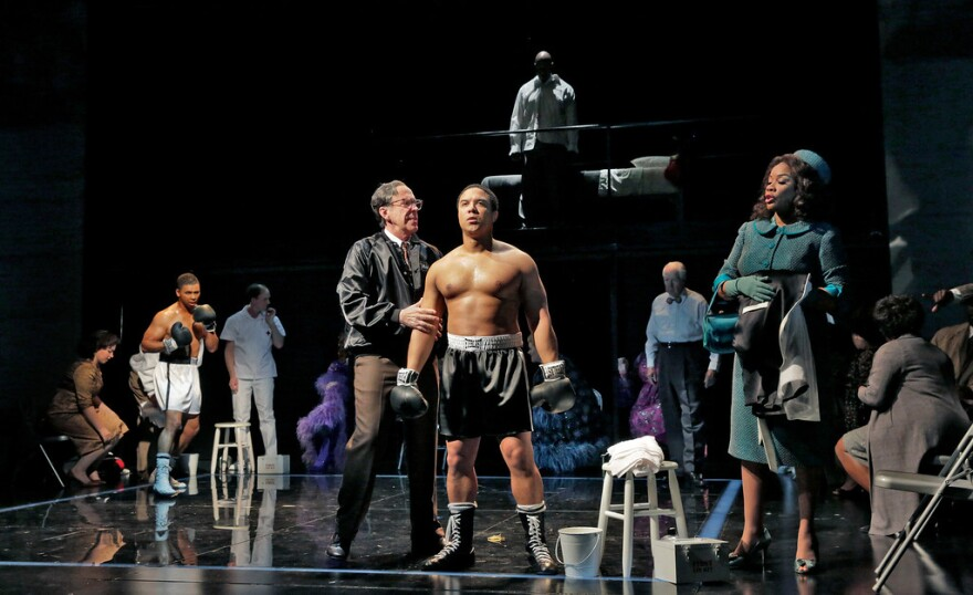 Opera Theatre of St. Louis premiered Champion by Terence Blanchard and Michael Cristofer in 2013.