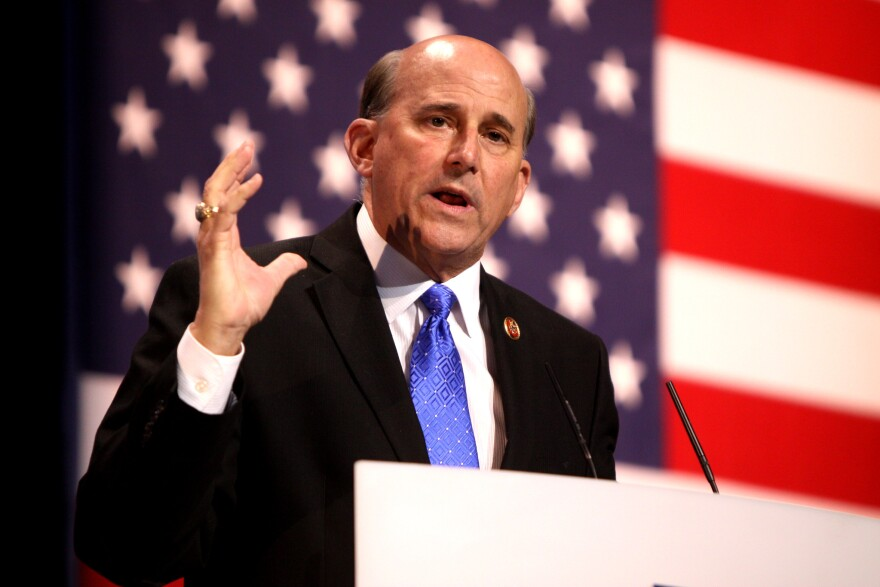 Texas Congressman Louie Gohmert speaks at the Conservative Political Action Conference in Maryland in 2013.