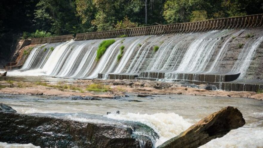 Gaston Shoals Hydro Station is among five plants Duke Energy has sold to Northbrook Energy.
