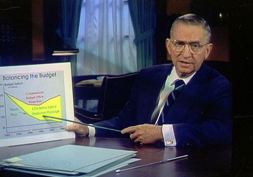 Ross Perot's plain talk and charts about budget deficits helped change the debate during the 1992 presidential campaign. The late Texan collected 19% of the vote that November -- the best showing by an independent candidate since Theodore Roosevelt.