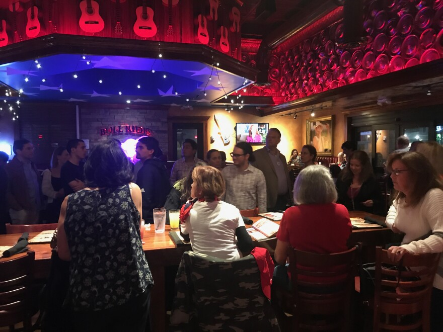 South Florida Republicans held a packed State of the Union watch party on Tuesday at Cadillac Ranch in Kendall.