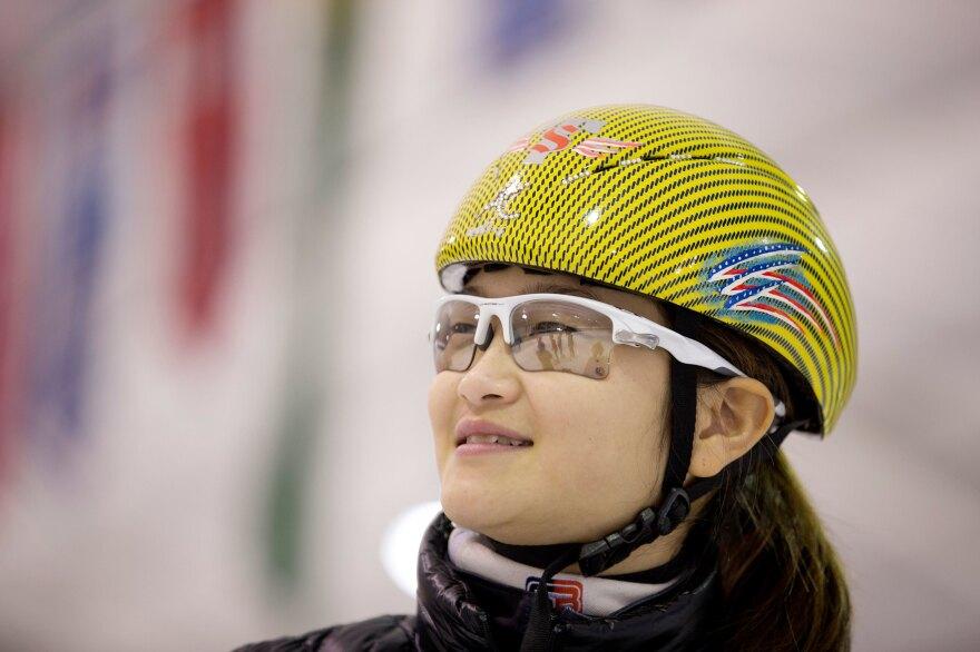 Kyubin Oh, 14, has Olympic dreams for 2022.