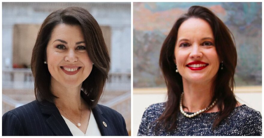 Side-by-side photos of LG Candidates.