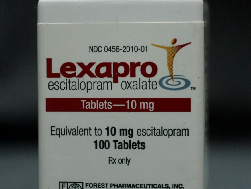 Researchers tested the antidepressant Lexapro, or escitalopram generically, to see if it would protect the heart against mental stress.
