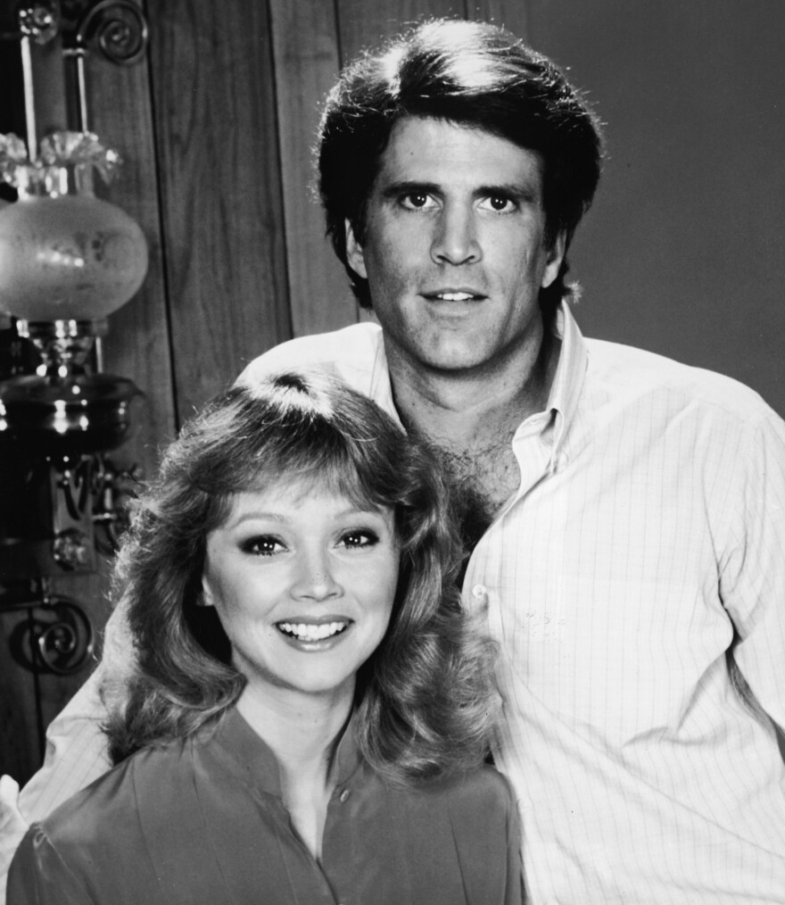 """Danson credits his big break in <em>Cheers</em> to Shelley Long, who played his love interest, Diane Chambers. """"She was really magnificent,"""" Danson says."""