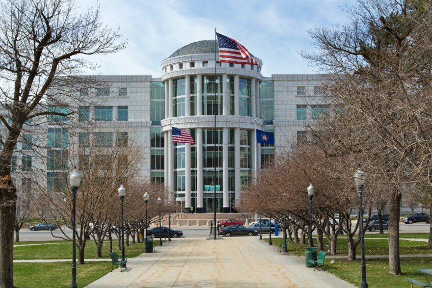 Photo of the Matheson Courthouse in Salt Lake City, Utah.