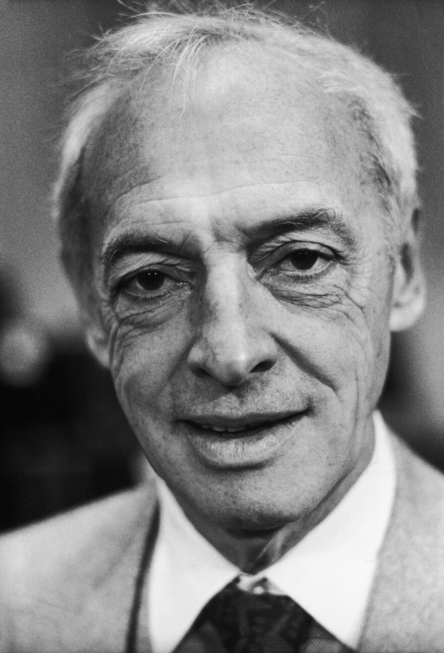 Novelist Saul Bellow, shown shortly after he was awarded the Nobel Prize for Literature in 1976, also won the National Book Award — three times — and the Pulitzer Prize.