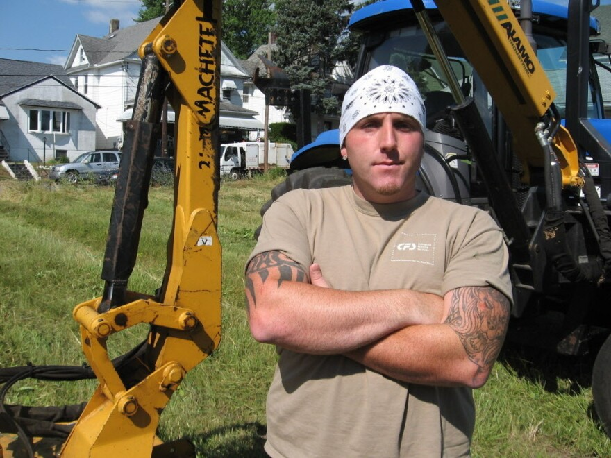 Roger Leonard, a heavy equipment operator for the city of Scranton, Pa., saw his pay plunge to $340 from about $900 for two weeks' work after the mayor cut city-employee pay to minimum wage.