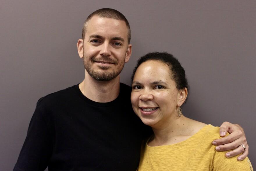 Eric Kelley and Stefanie Kelley