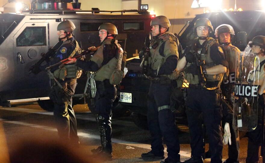 police line ferguson 81814