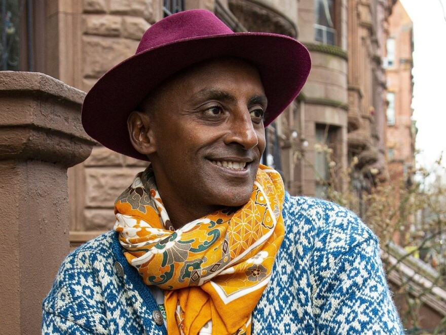 Chef Marcus Samuelsson's new book is called <em>The Rise: Black Cooks and the Soul of American Food. </em>