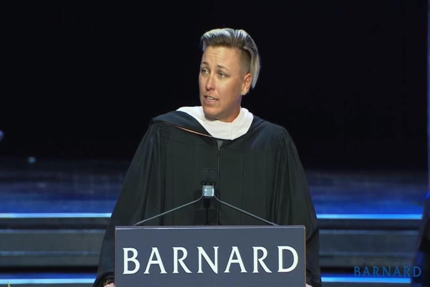 Abby Wambach (Barnard College via Youtube)