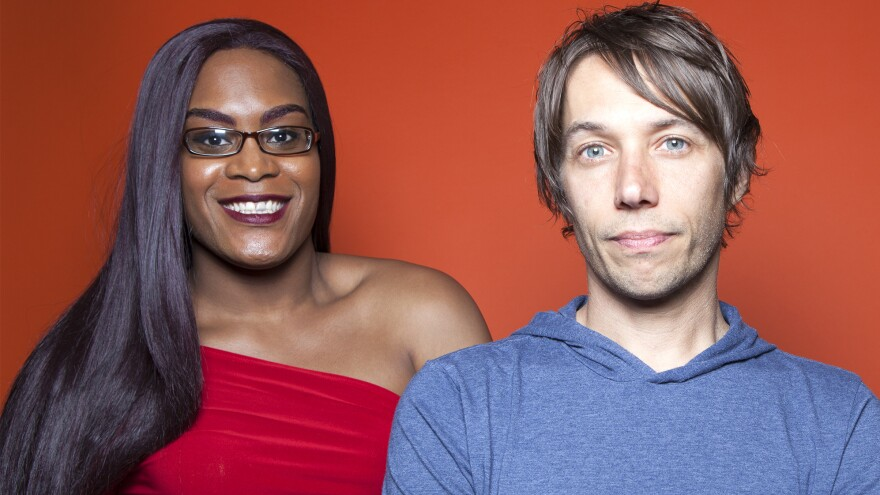 Actress Mya Taylor and director Sean Baker collaborated on the film <em>Tangerine</em>, a comedy about a friendship between transgender sex workers in Los Angeles' unofficial red-light district.