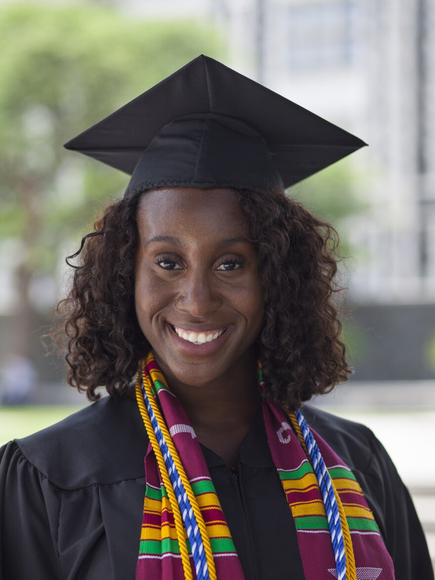 Erica Martinez-Close struggled in college after graduating from a KIPP charter school. But continued support from KIPP helped her get back on track and graduate from City University of New York.