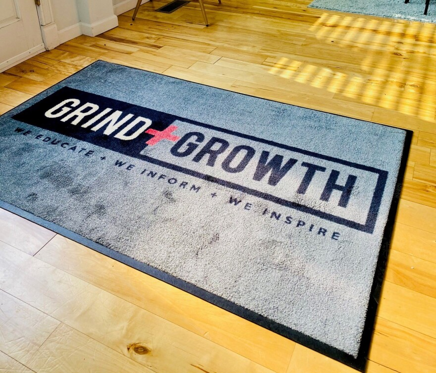 Grind + Growth operates a coworking space in Tower Grove Heights. All spaces are currently leased as more people turn to entrepreneurship during the pandemic.