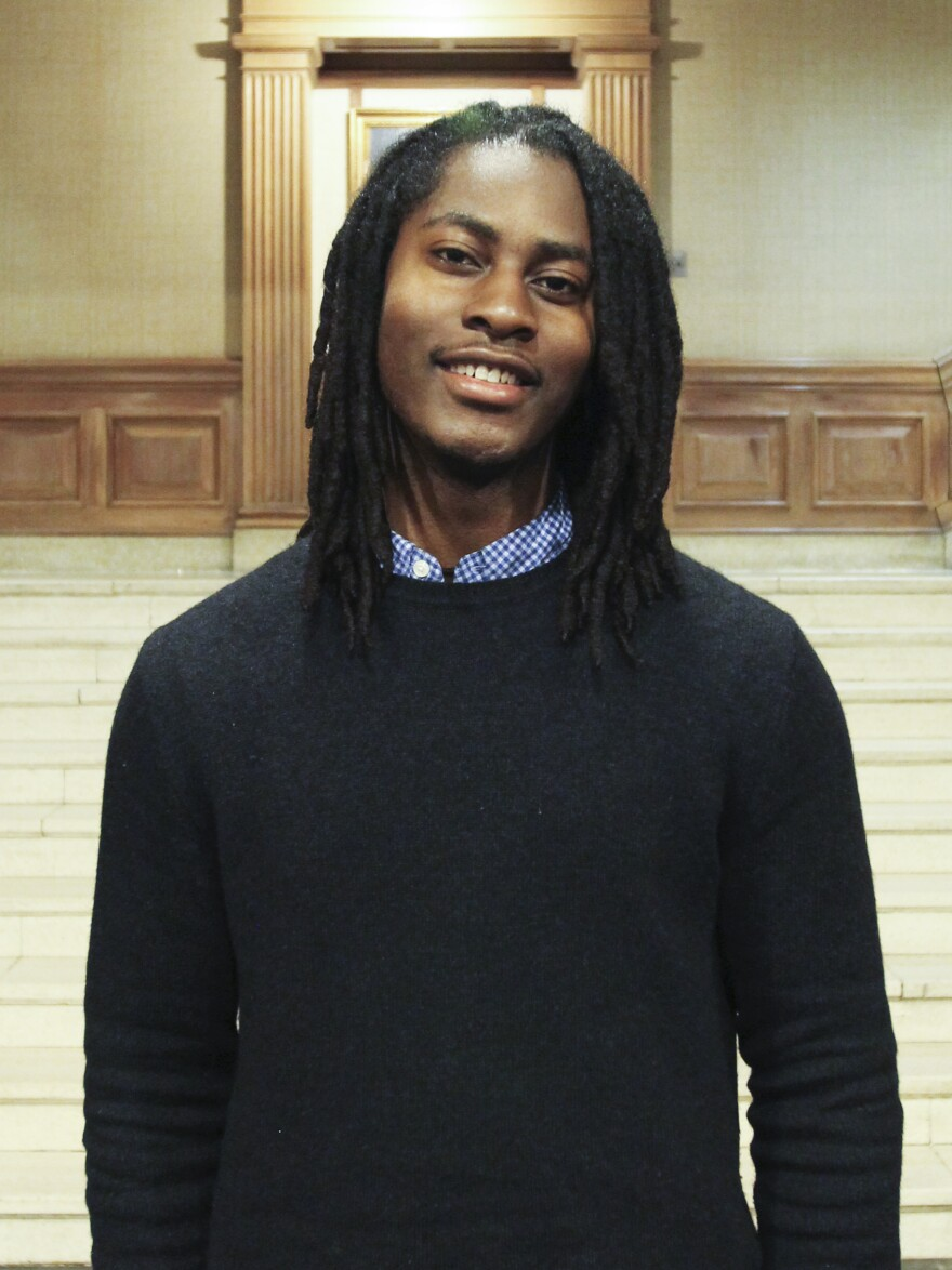 """""""When you have Rhodes scholar on your resume, people tend to make a lot of assumptions about your competence and intelligence and wisdom,"""" senior Cameron Clarke says, """"that they might not ordinarily make if you were just any other black guy with dread locks that passed in your resume."""""""