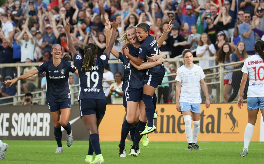 The National Women's Soccer League hasn't played a game since October, when the North Carolina Courage won the 2019 league championship.