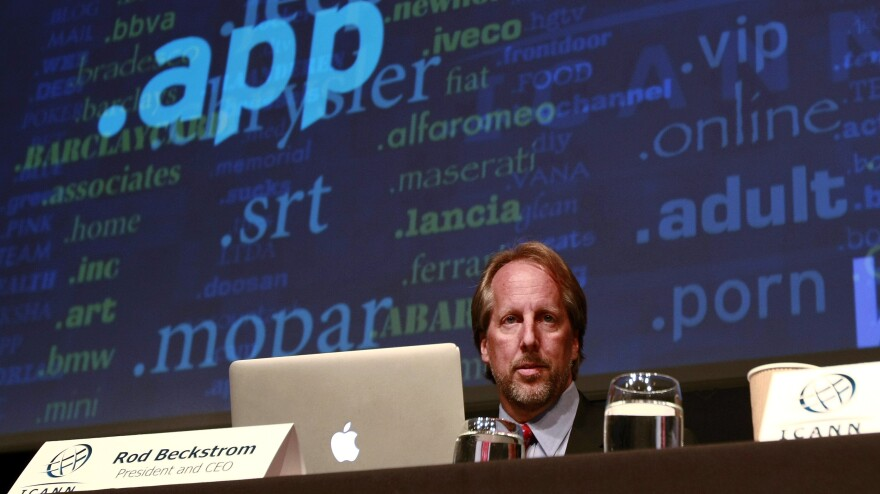 """ICANN President and CEO Rod Beckstrom unveiled nearly 2,000 proposed new """"top-level"""" domain names during a press conference in London Wednesday."""