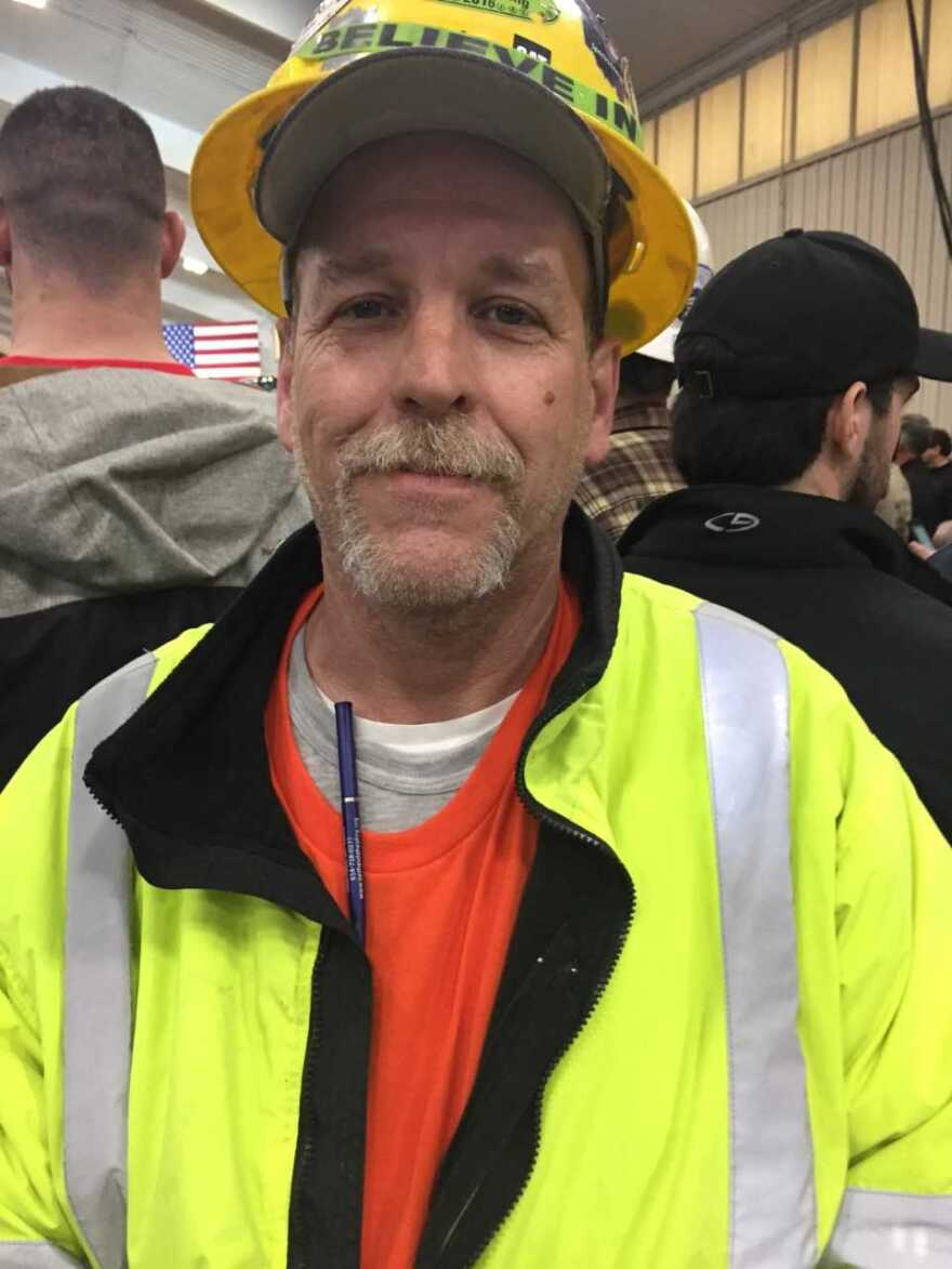 Stan Brubaker, changed careers to go into construction