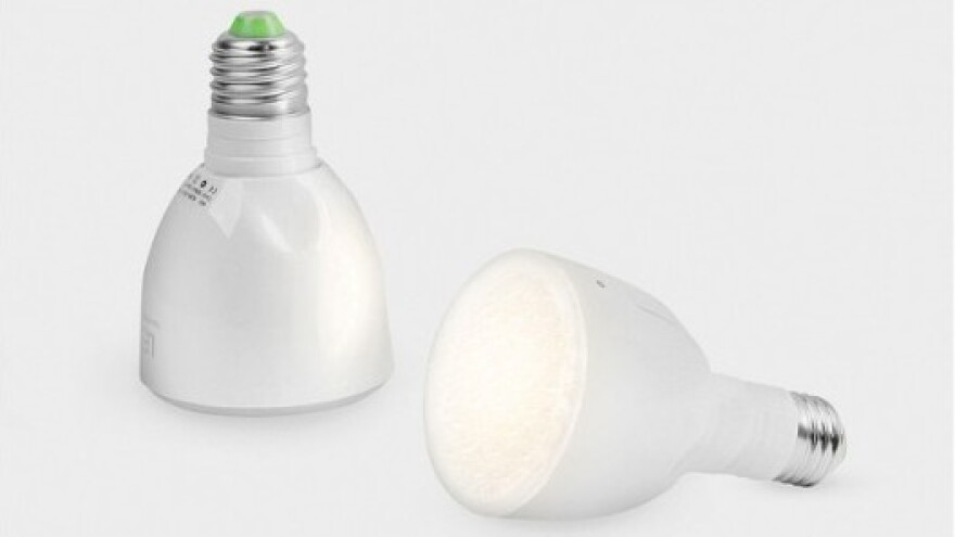 When charged, the Bulb Flashlight can stay on for three hours.