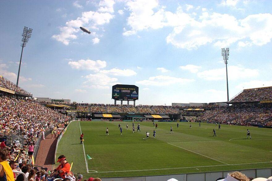 Soccer team Columbus Crew
