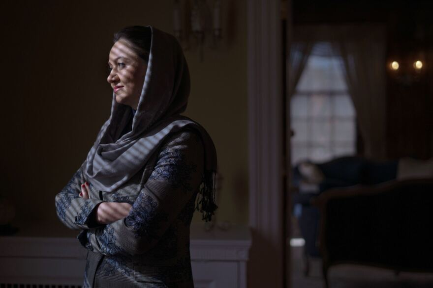 """What makes me hopeful about women's rights in Afghanistan is that women themselves, they have their own voice,"" Roya Rahmani, Afghanistan's ambassador to the U.S., tells NPR."