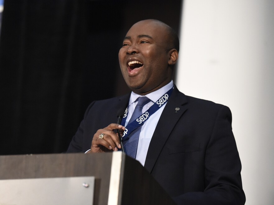 Democrat Jaime Harrison has set fundraising records in his bid to unseat GOP Sen. Lindsey Graham in South Carolina.