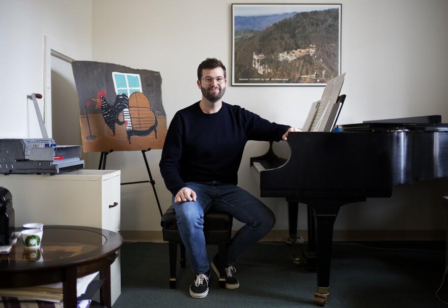 "Washington University composer Christopher Stark's ""Seasonal Music"" explores the ways our environment is changing. (Dec. 5, 2019)"