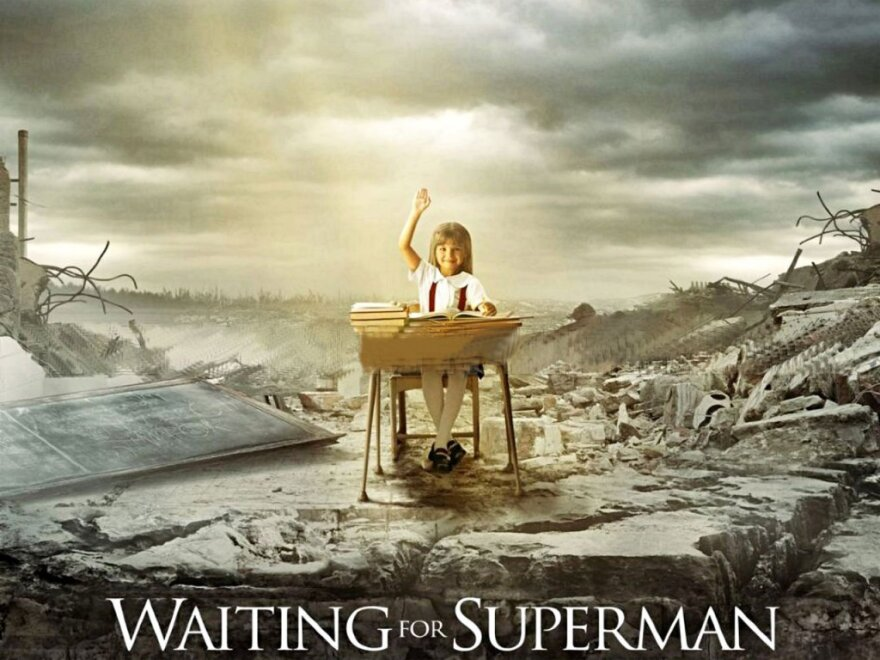 Waiting For Superman Poster