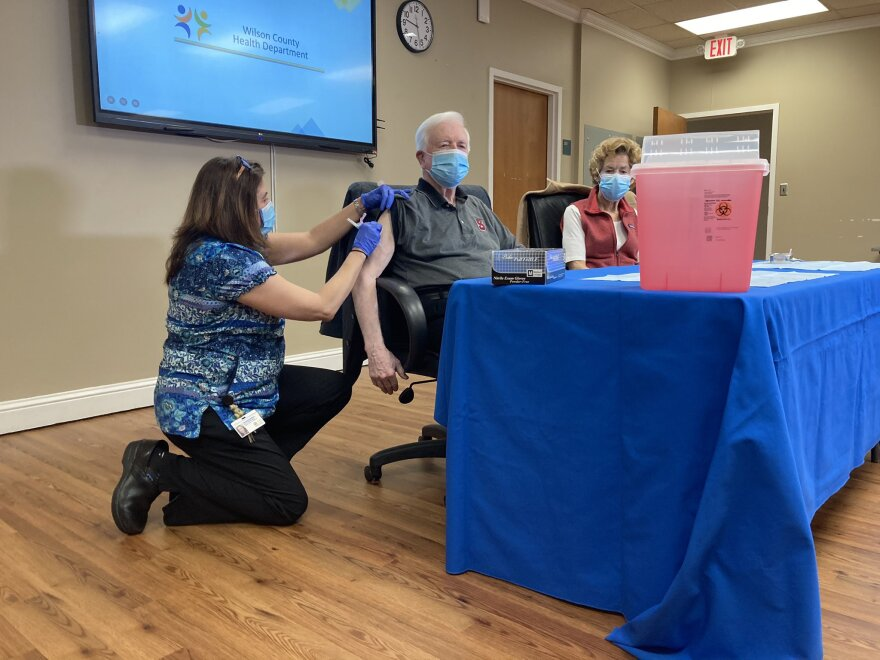Vaccines have still be scarce across North Carolina.