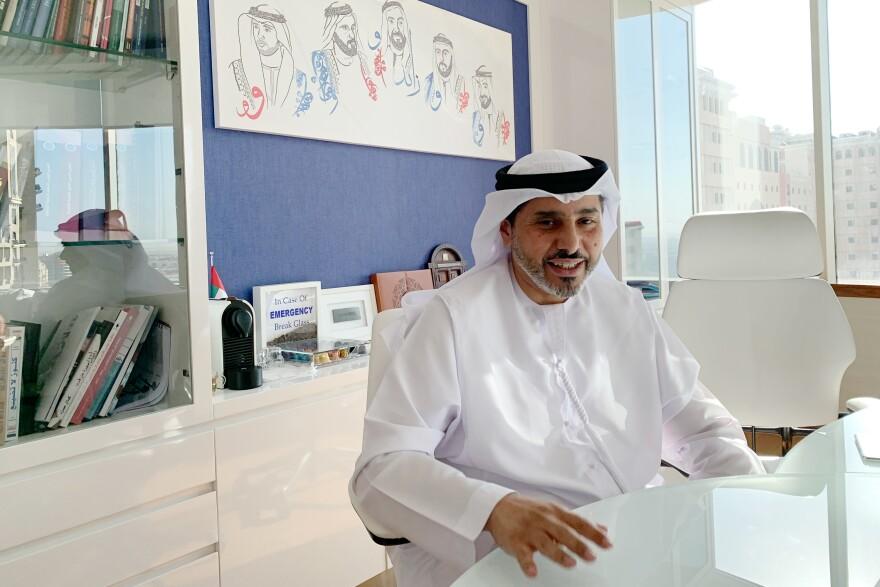 Mohammed Baharoon, who runs the Emirati think tank B'Huth.