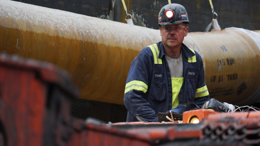 President Trump praised the 2017 opening of this mine in Friedens, Pa., which created around 100 jobs.