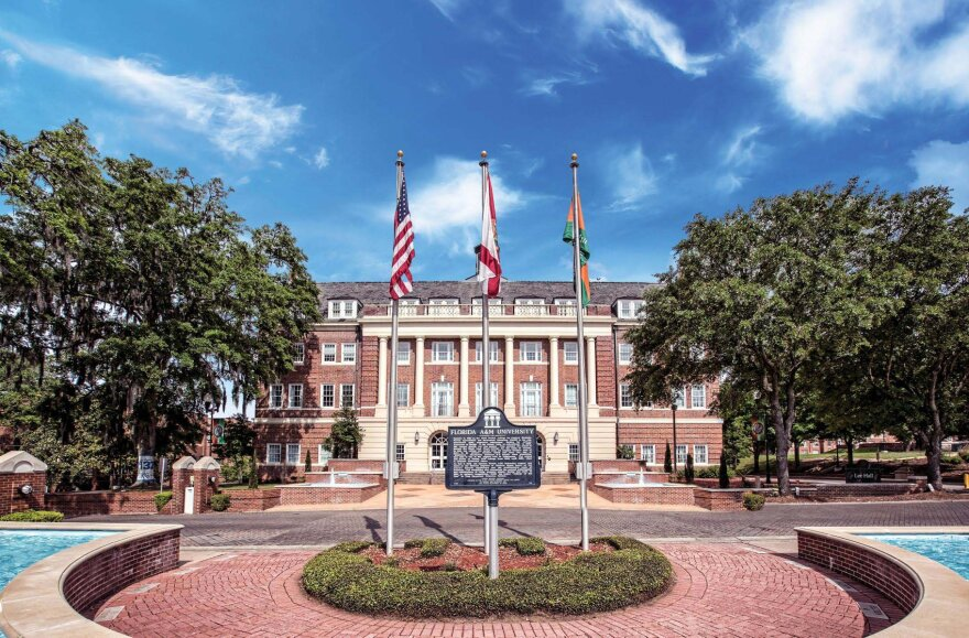 Wide view of Florida A & M University