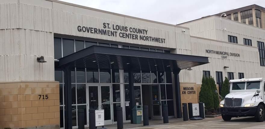 The St. Louis County satellite location in St. Ann as pictured on Nov. 25, 2020