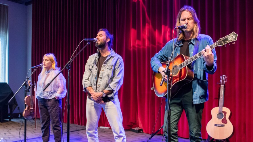 The Head and the Heart performed live for <em>World Cafe</em>.