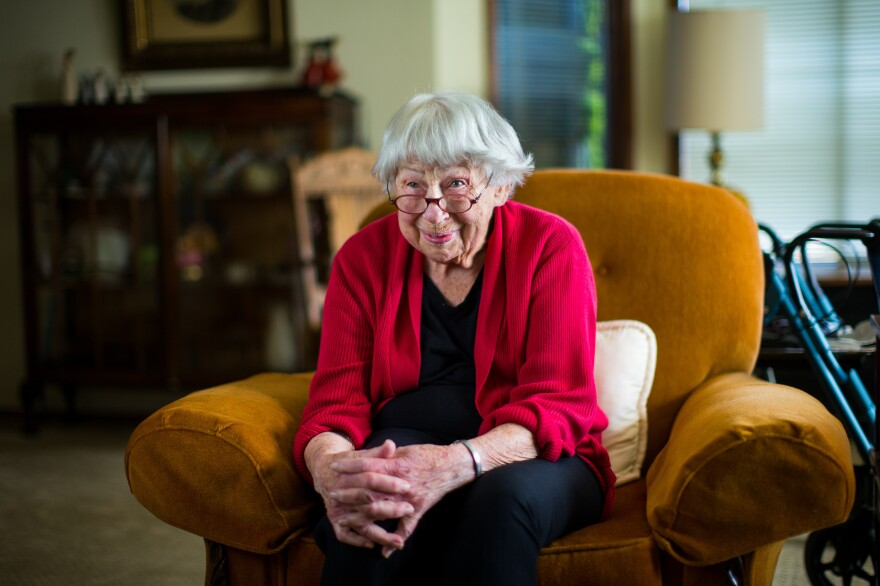 """Helping her father die at home """"was the most meaningful experience in my nursing career,"""" said Rose Crumb. She went on to found Volunteer Hospice of Clallam County in Port Angeles, Wash."""