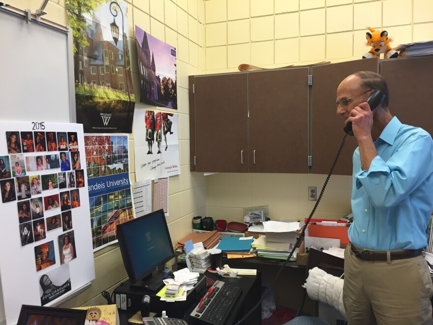 Stivers School for the Arts counselor, Dave Asadorian, says his greatest joy comes when he can change student's lives for the better.